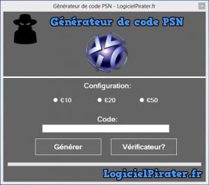 Code PSN Gratuit - Générateur de code PSN