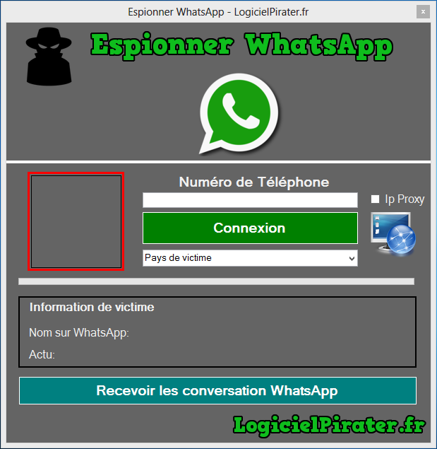 Partie 1 : Comment pirater WhatsApp sans installer une application ?