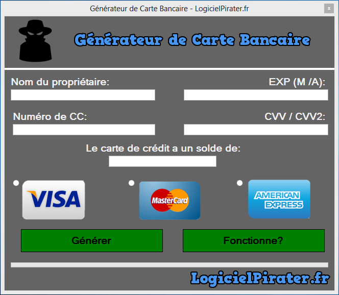 application android pour pirater carte bancaire