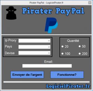 Pirater PayPal - Comment avoir de l'argent PayPal