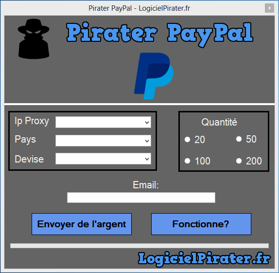 pirater paypal comment avoir de l 39 argent paypal. Black Bedroom Furniture Sets. Home Design Ideas