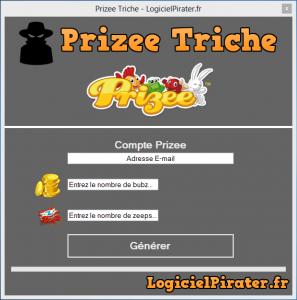 Prizee Triche - Obtenez Bubz et Zeep illimités 2017